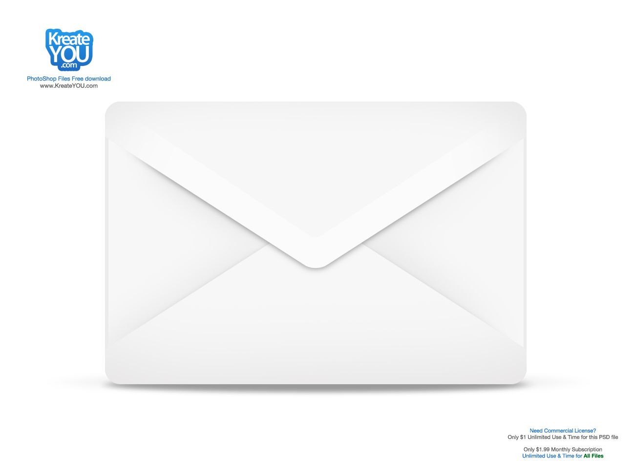 Email icon (PSD)! Free PSD download for personal use. For ...