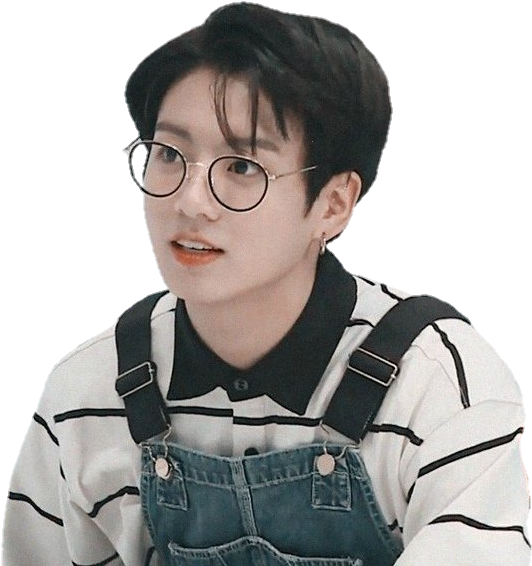 View And Download Hd Bts Run Jungkook Sticker Png Image For Free The Image Resolution Is 546x565 And With No Back Jungkook Jungkook Glasses Jungkook Aesthetic