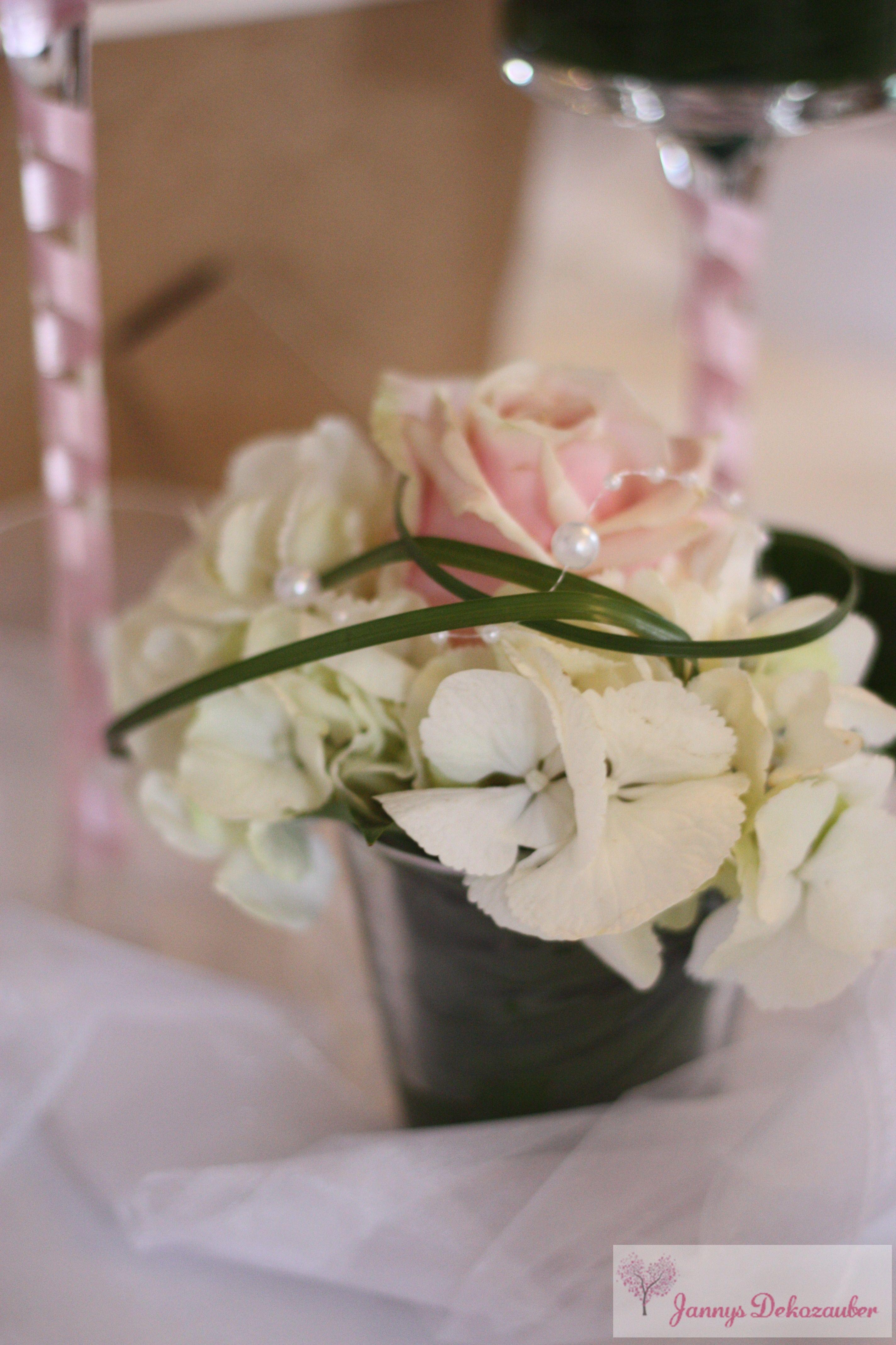 Hochzeitsdeko tischdeko hochzeit individuell hangemacht for Rosa tischdeko hochzeit