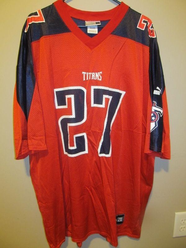 PUMA Eddie George Retro Tennessee Titans Jersey  58cc32150