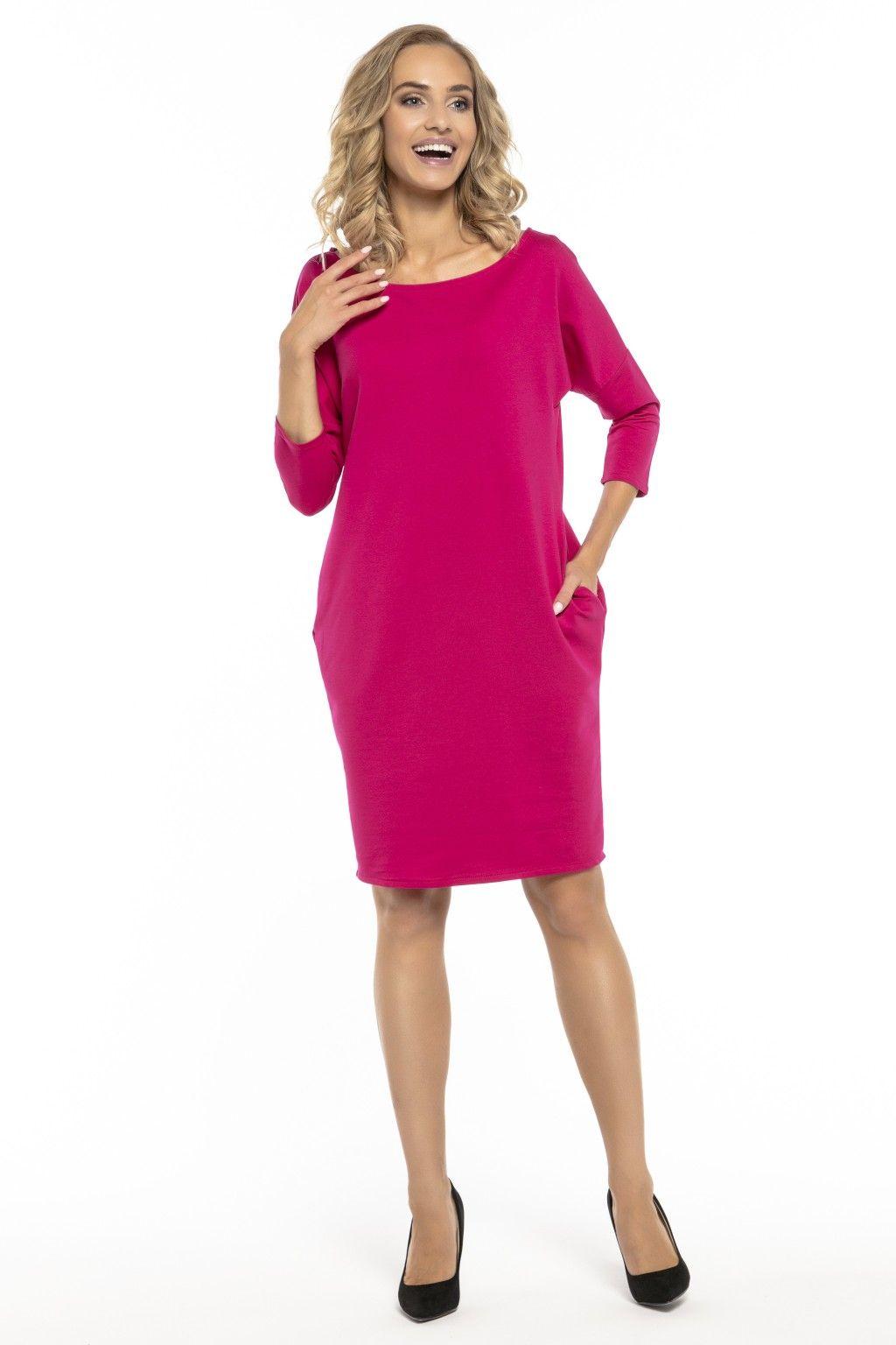 deafb462c0 Idealna sukienka do codziennej stylizacji z kieszeniami