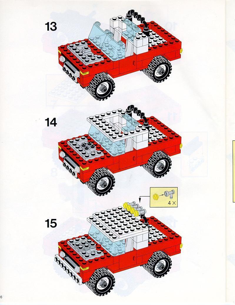 Old Lego Instructions Letsbuilditagain Lego Pinterest