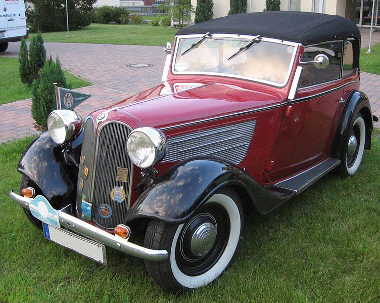 BMW 319 convertible model – 1935 | BMW - 20TH CENTURY MODELS (upto ...