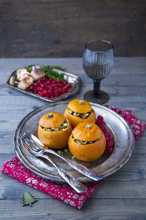Recette de pommes d'or farcies au seitan et marrons (avec ...