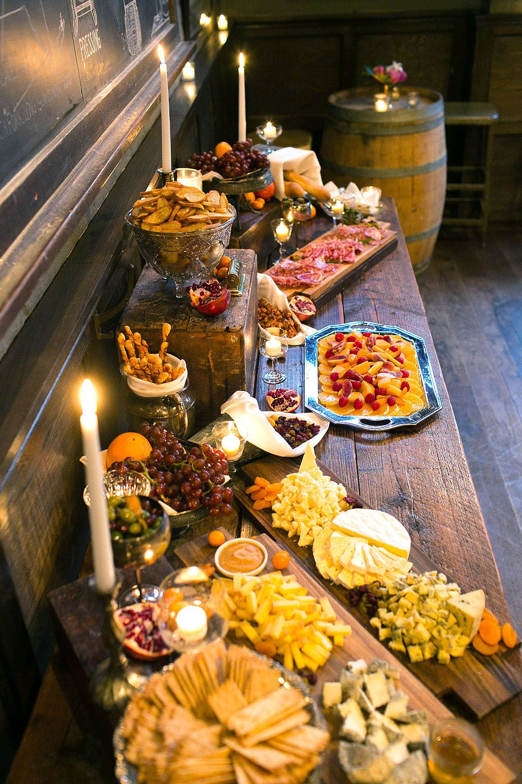 Table Snack Cuisine Brooklyn Winery Sets The Gold Standard For Corporate