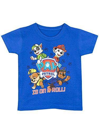 832fed150 PAW Patrol - Camiseta para niño - La Patrulla Canina - 3 a 4 Años  camiseta   friki  moda  regalo