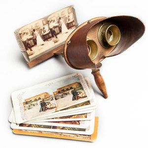 Stereoscope With Cards 186 Now Featured On Fab Stereoscopic