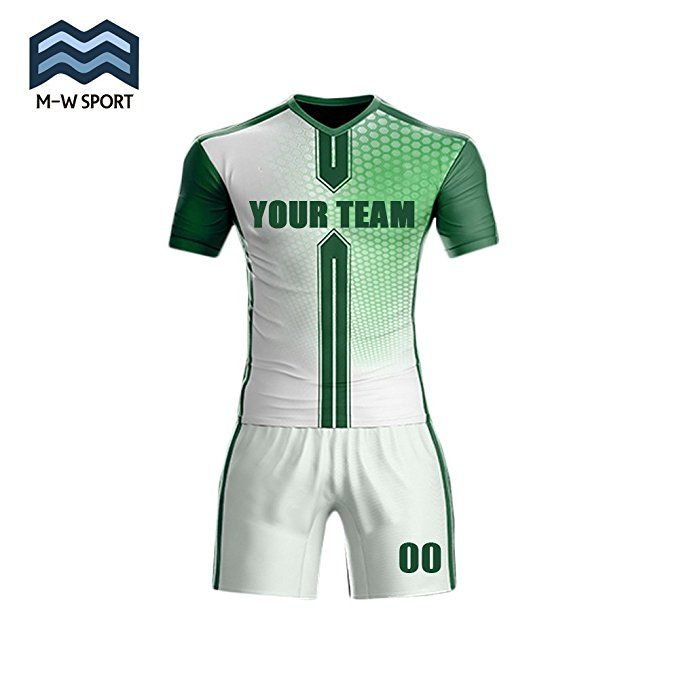 M-W Sports Sublimation Digital Printing Soccer Jerseys For Team Custom any  Name any Number (S 2e07103ad