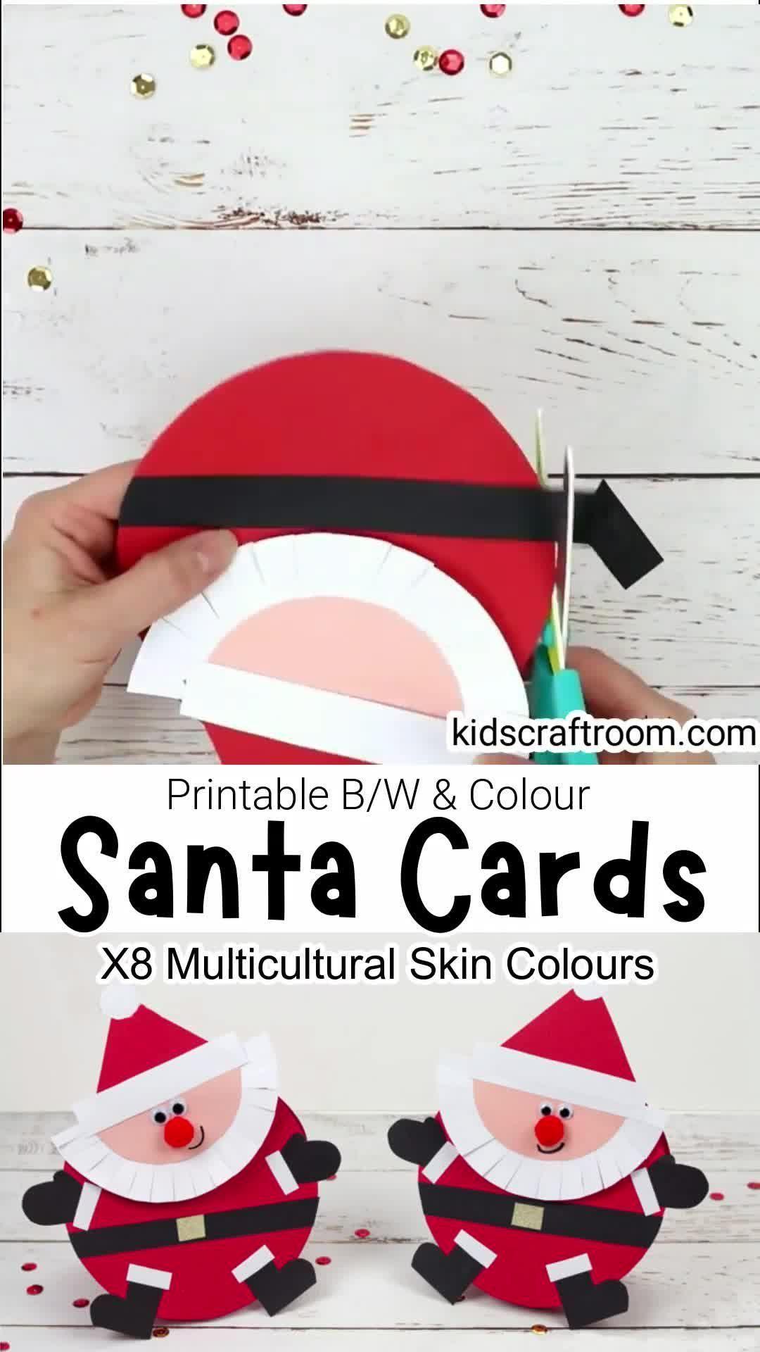 Photo of Santa Christmas Cards
