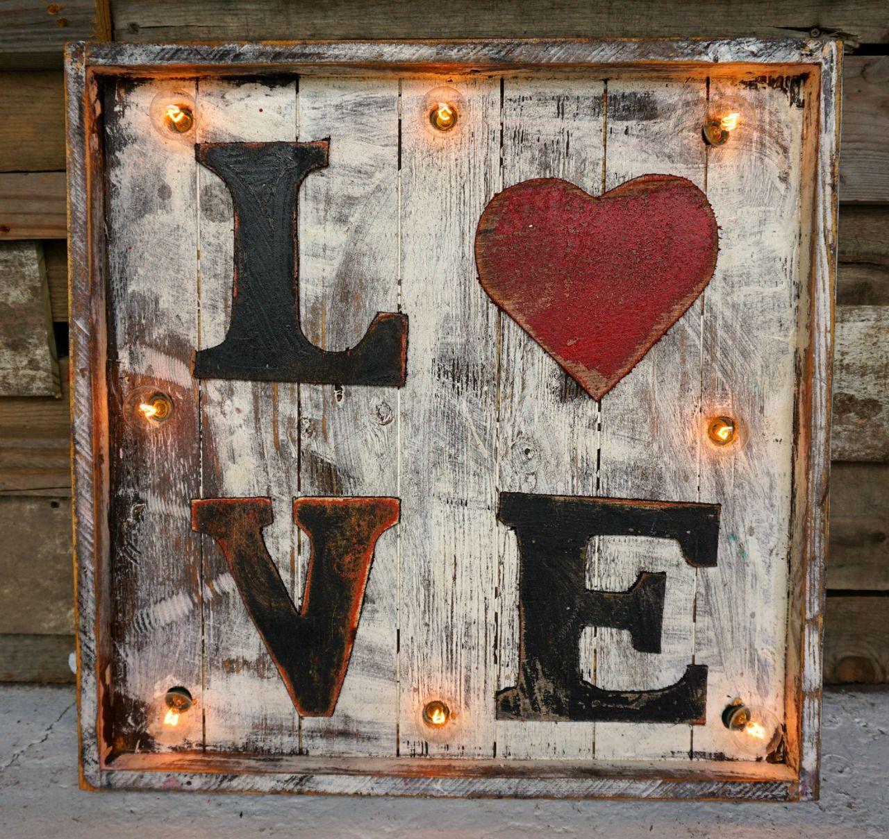 Love Wood Marquee   Sofiau0027s Rustic Furniture #love #wood #marquee #sofias #