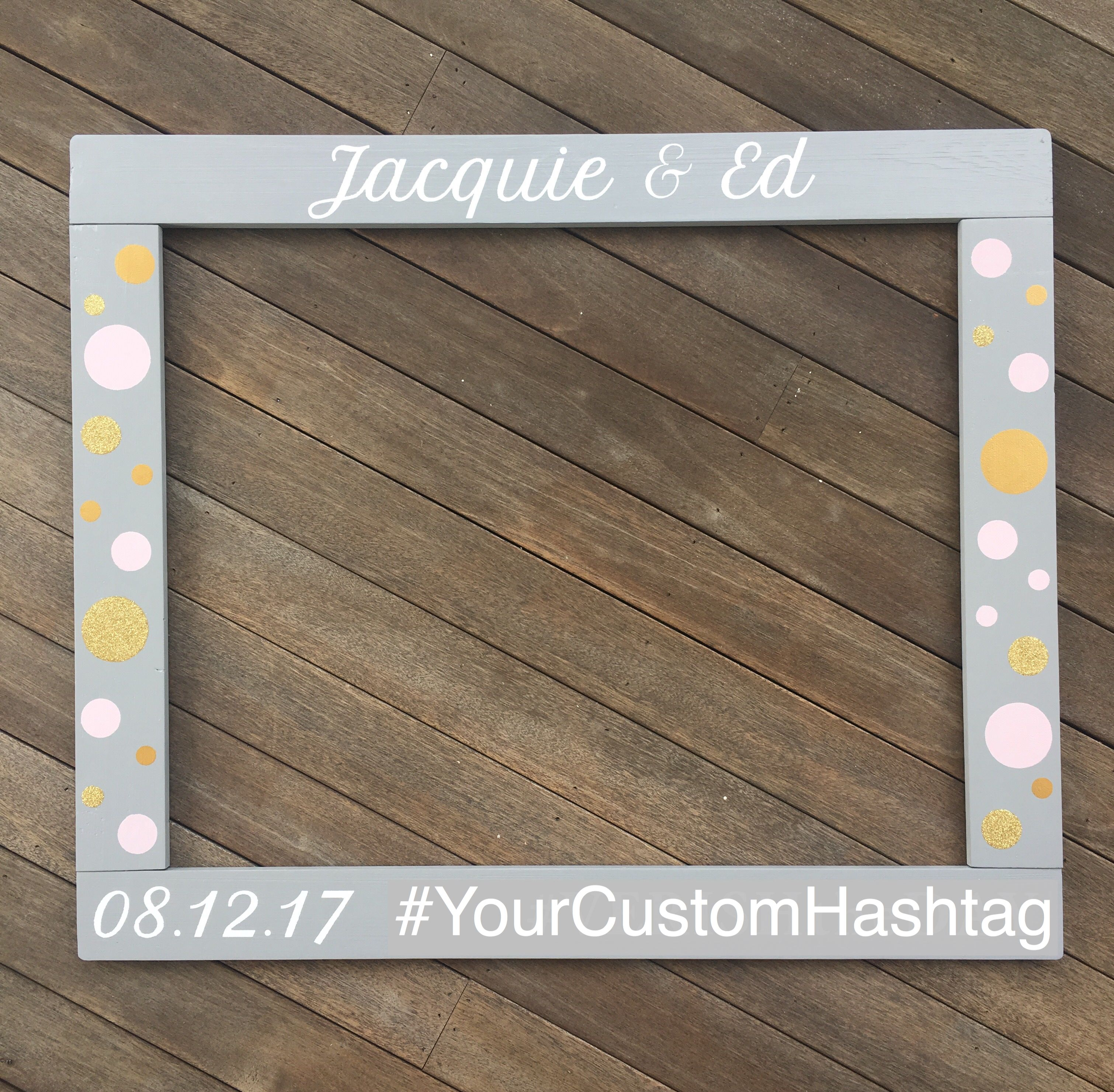 wedding photo booth props printable%0A Wedding Photobooth Frame  Anniversay Photo Booth  Pallet Wood Photobooth  Frame Prop