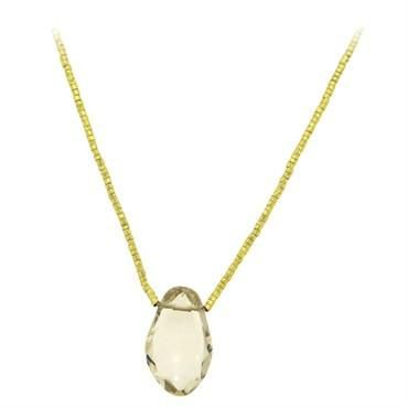27a6bd62ba3e7a H. Stern 18k Gold Topaz Golden Bead Large Pendant Necklace in 2019 ...