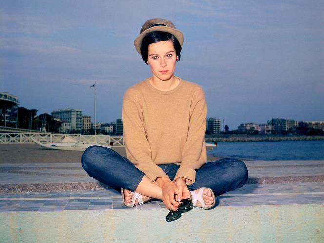 Cannes Film Festival fashion: Geraldine Chaplin, 1967