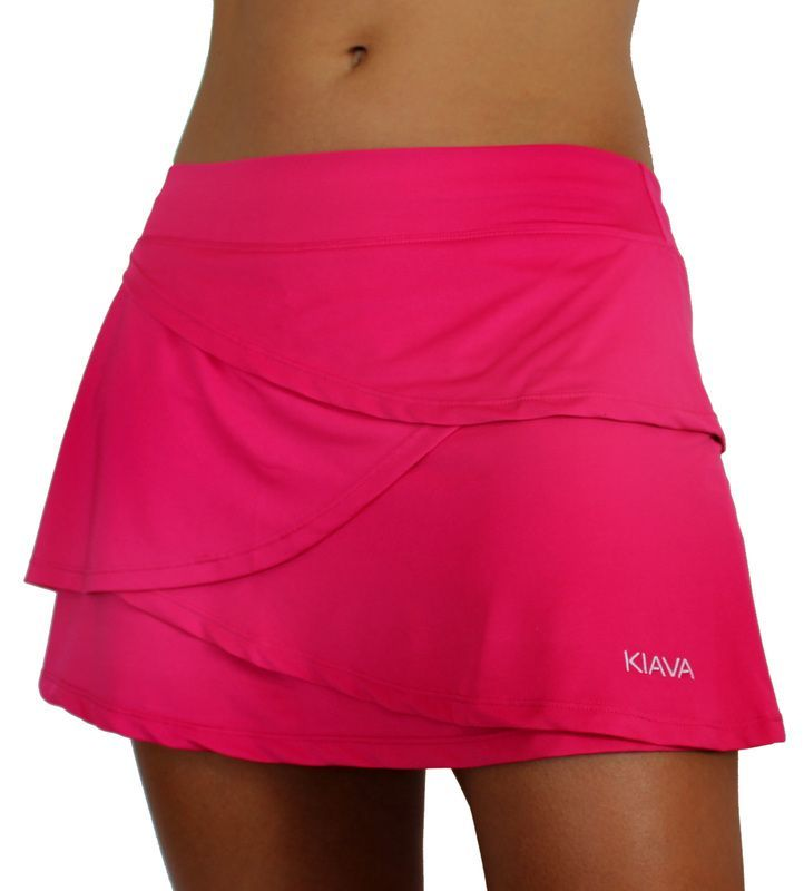 The Hot Pink Petal Skort! Love it! Kiava is a clothing brand that used to be called LivFit... same great stuff though. Check it out.