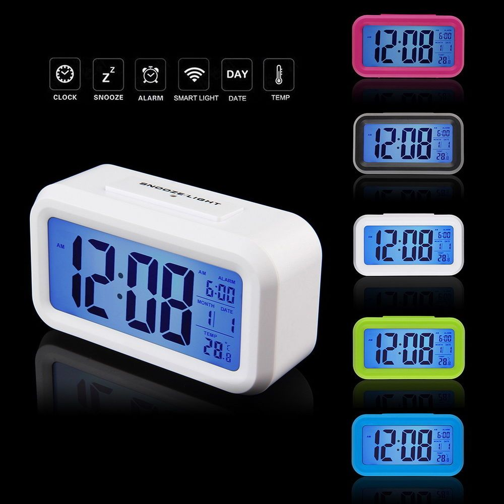 Led Digital Electronic Alarm Clock