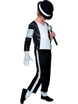 Womens Petite Michael Jackson Style Thriller Costume