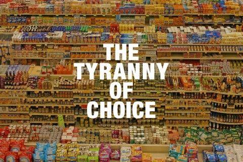 The Tyranny of Choice | Highsnobiety