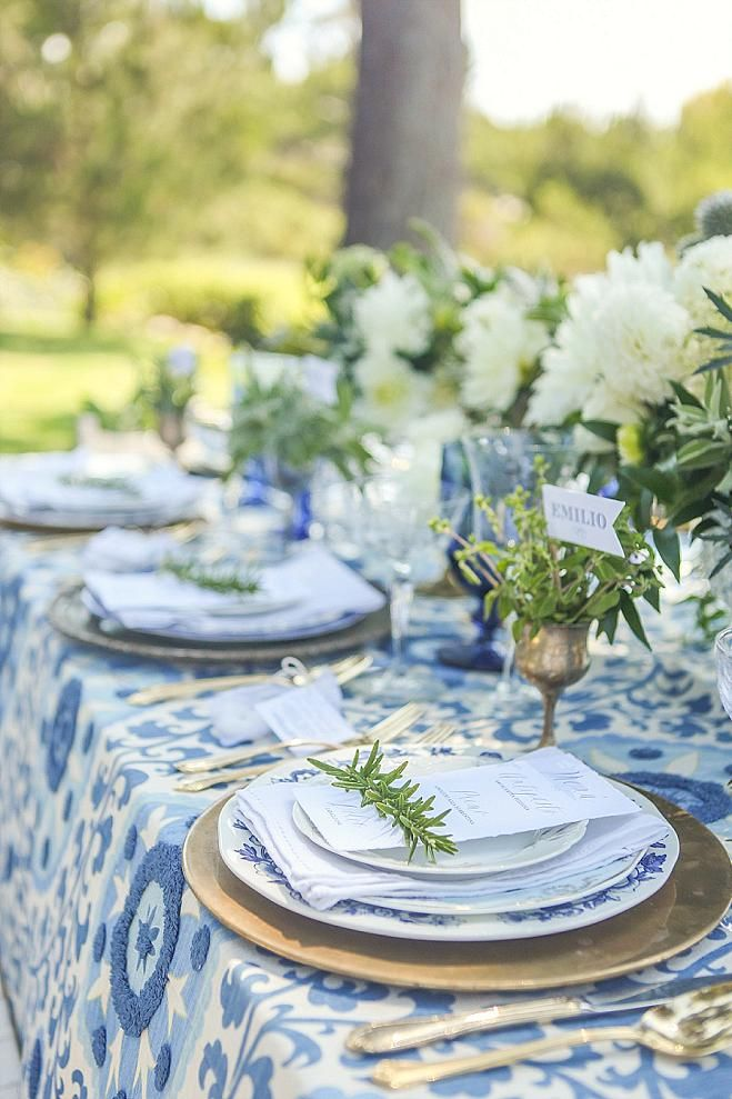 California Wedding Decor An Italian Inspired Styled Shoot With