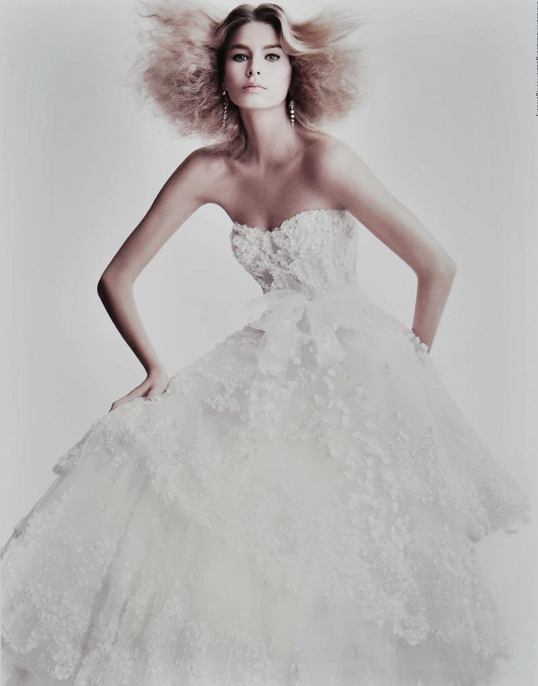 Monique Lhuillier Looks Back On 20 Years of Bridal Fashion   Monique ...