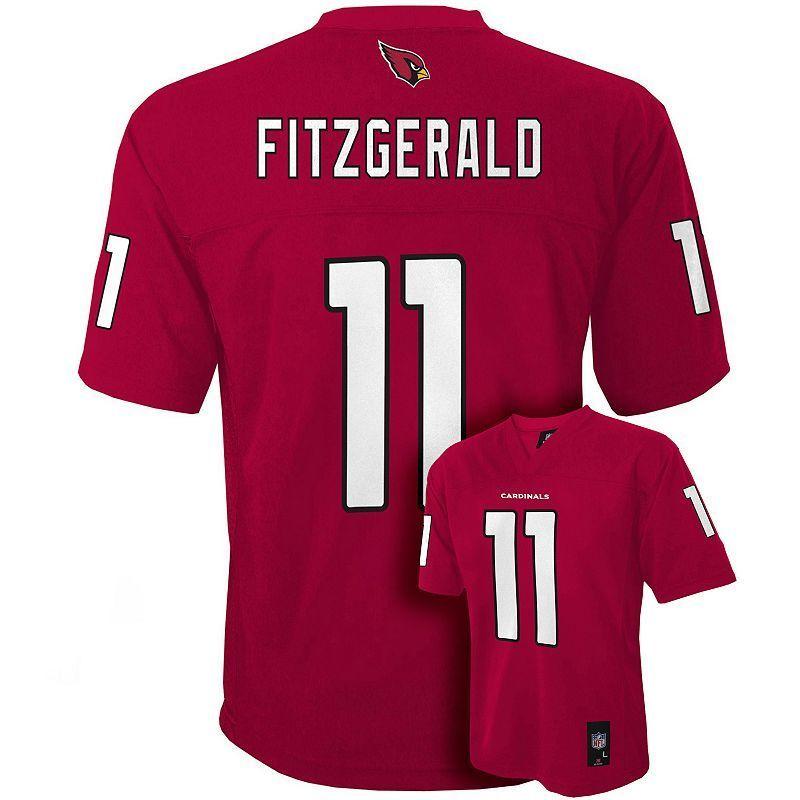 Boys 8-20 Arizona Cardinals Larry Fitzgerald NFL Replica Jersey ... 9fb3b2013