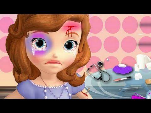 Princesa Sofia ❤ Sofia Lesiones En La Cabeza ᴴᴰ ❤️ Juegos Para Niños y Niñas - YouTube