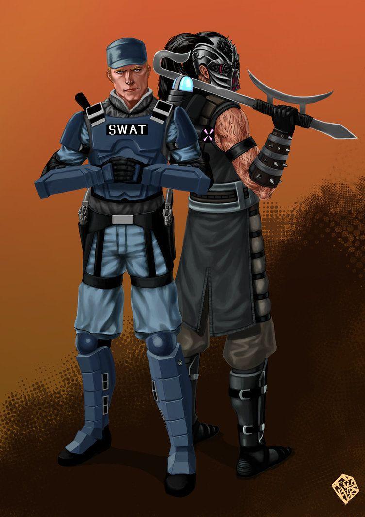 Stryker & Kabal - Mortal Kombat - Kachakacha deviantart com