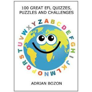 100 Great EFL Quizzes, Puzzles and Challenges: Stimulating, Photocopiable, Language Activities for Teaching English to Children and Young Learners of ESL and EFL (Paperback)  http://like.best-hometheaters.com/redirector.php?p=0956796818  0956796818