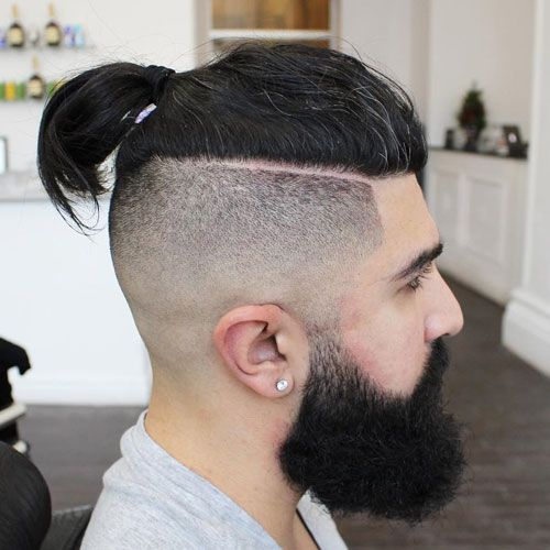 25 Cool Shaved Sides Hairstyles Haircuts For Men 2020 Update Long Hair Styles Shaved Side Hairstyles Viking Hair