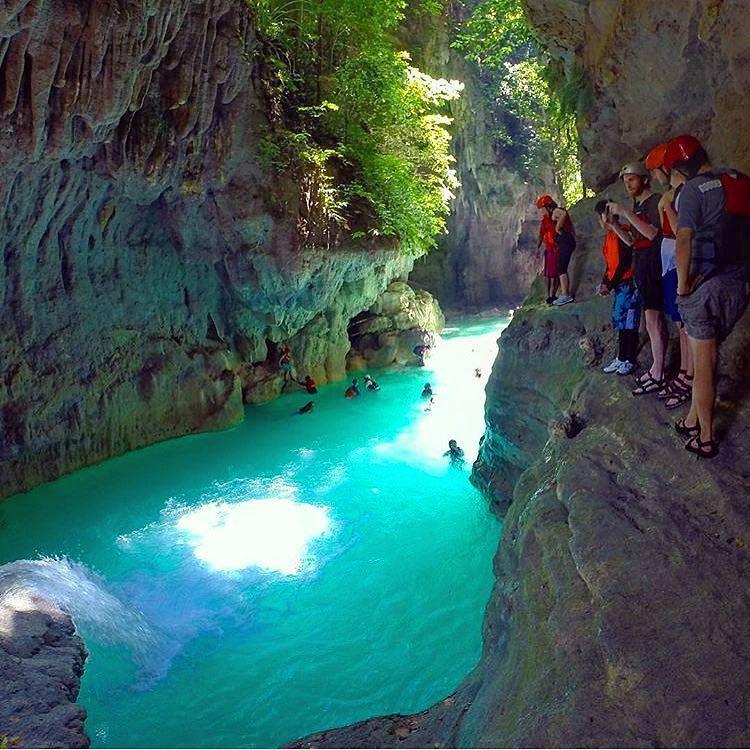 Badian Cebu Philippines Canyoneering Photo By Vitoselma Traveler Fun Philippines