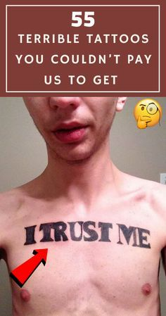 55 terrible tattoos you couldn't pay us to get