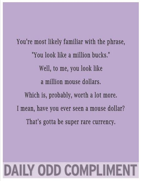 Mouse dollars...hilarious!