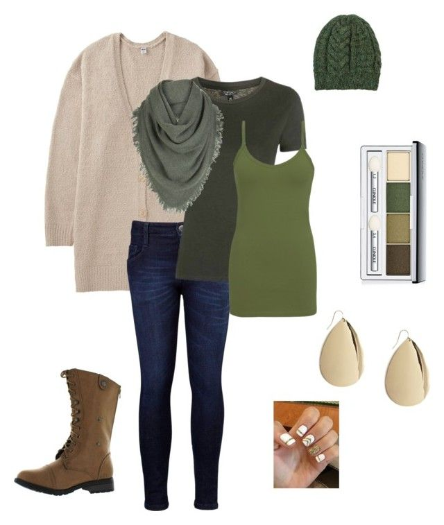 """Girls day"" by corrine-dombroski on Polyvore featuring Uniqlo, Levi's, Topshop, BKE core, White + Warren, NOVICA, Reneeze, Clinique and Forever 21"