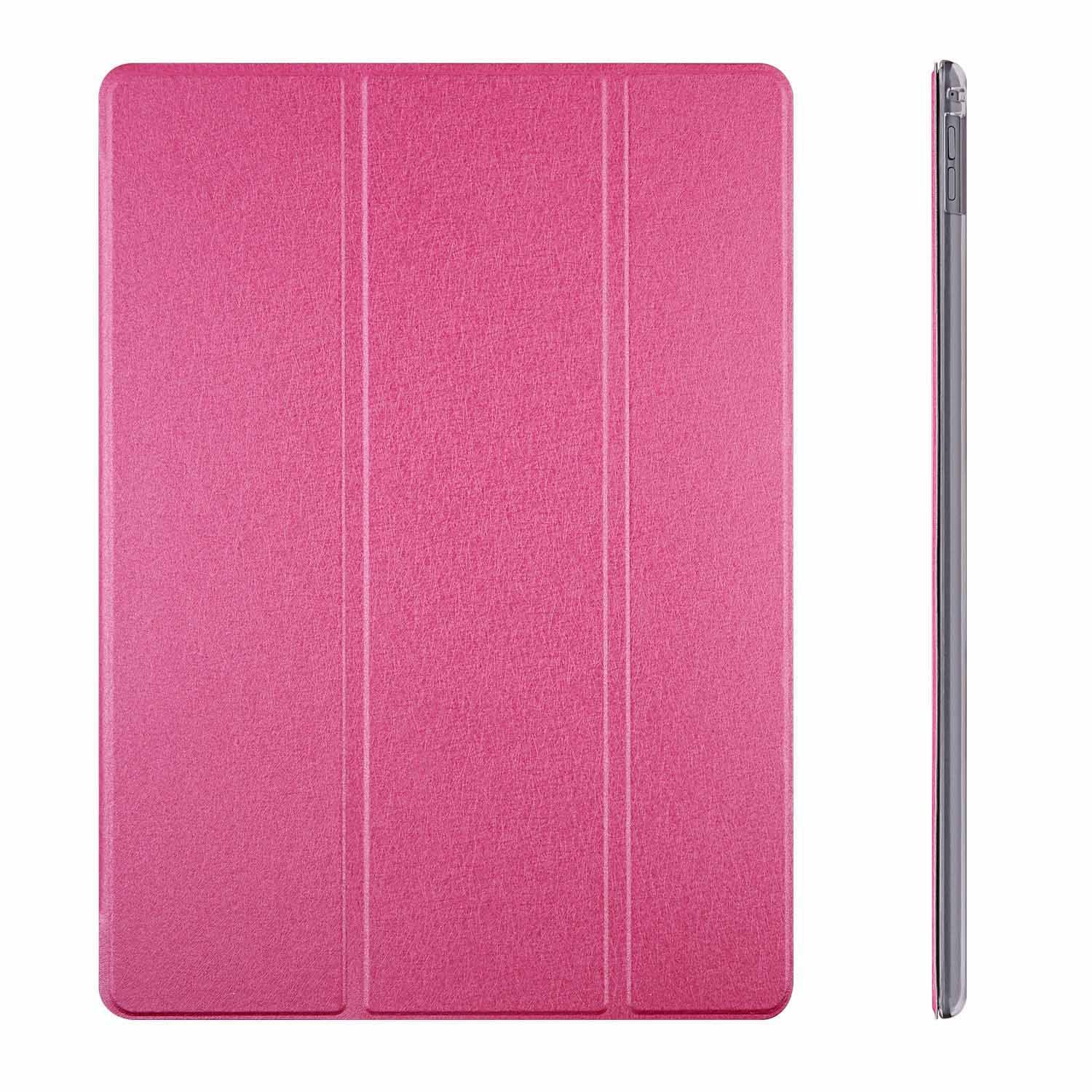 conjoinedleather case for iPad pro with frosted soft transparent TPU and stand anbond (2)
