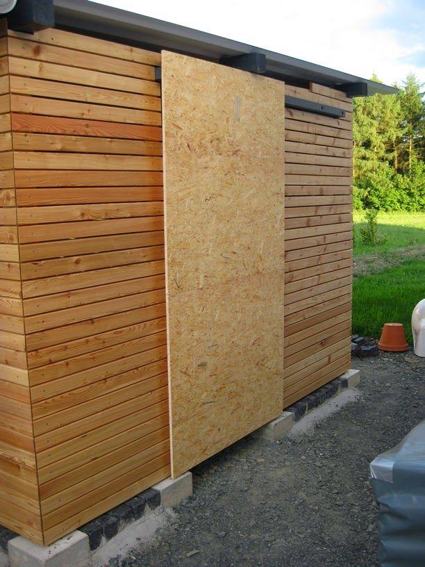 Hausprojekt Carport / Schuppen Teil 5 Holzhütte