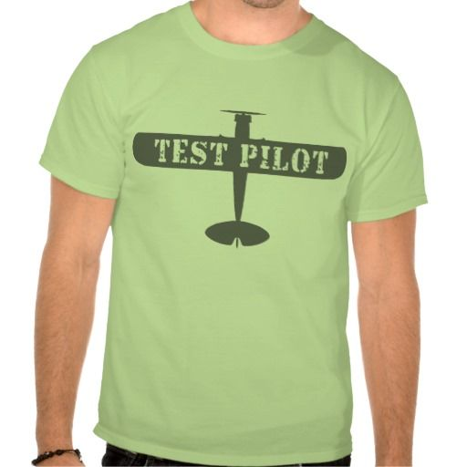 Airplane and Test Pilot T Shirts fun for adults and kids!