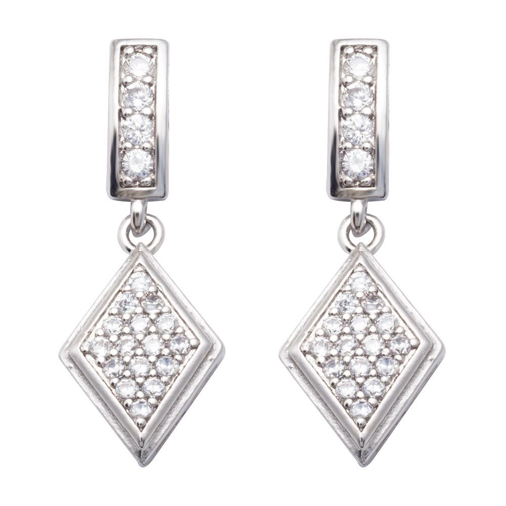 9bcc186befcd3 $2.42 - Small Clear Round Cubic Zircon White Gold Filled Jewelry ...
