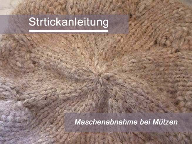 Photo of Kostenlose Anleitung: Maschenabnahme bei Mützen