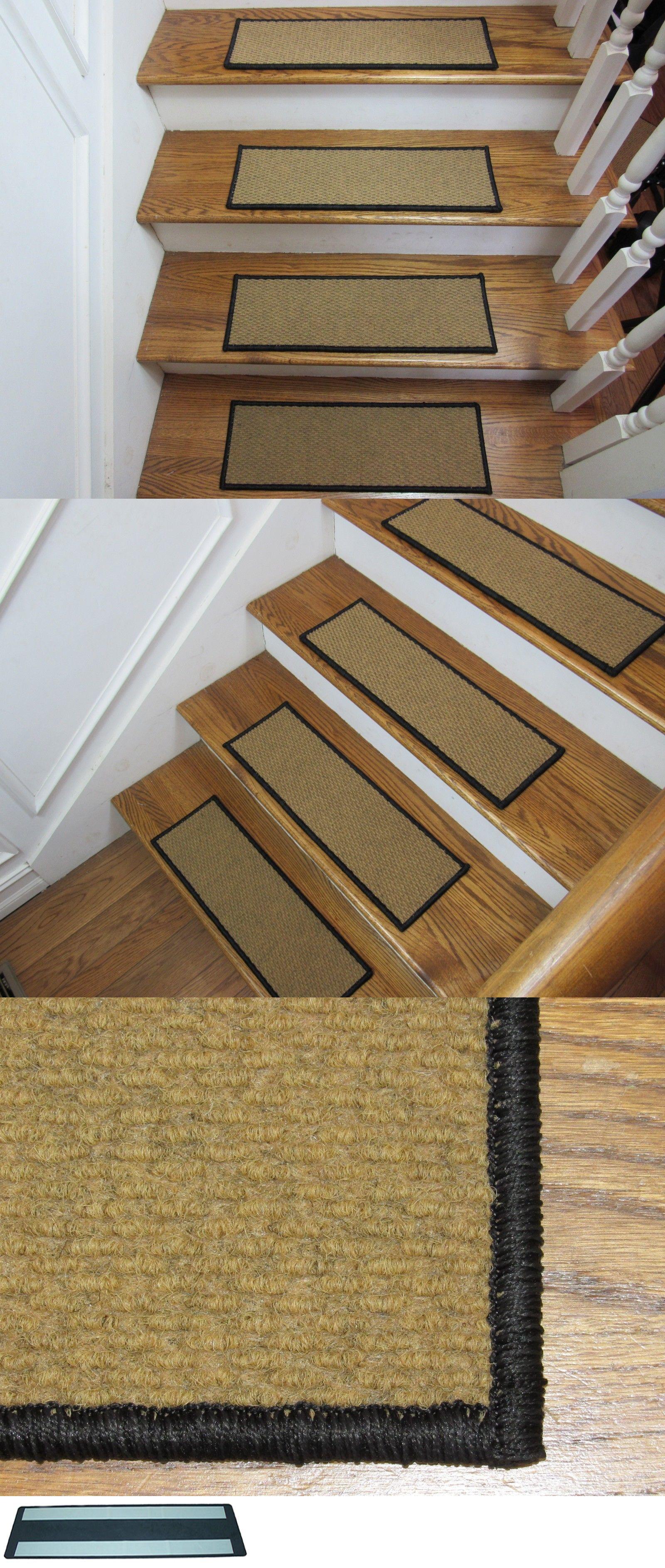 Stair Treads Serged Carpet Stair Treads Style Berber