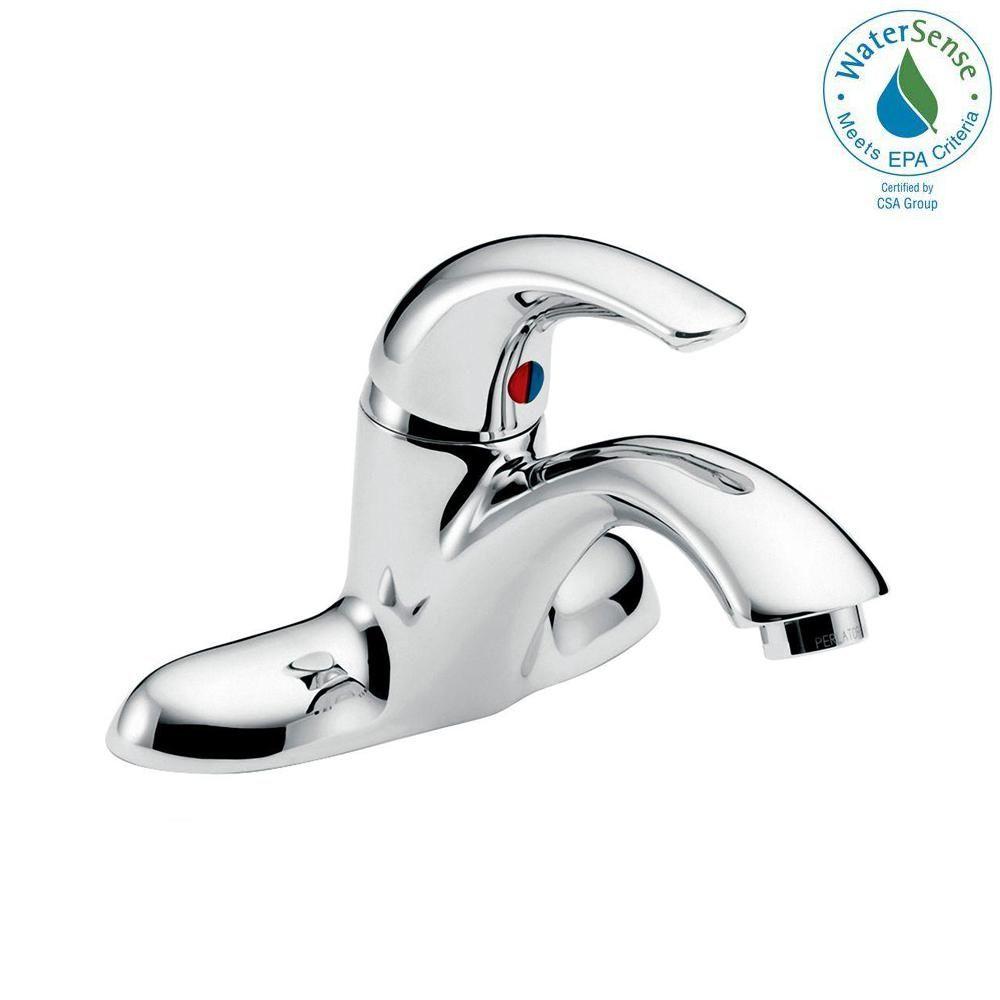 Centerset Single Handle Bathroom Faucet