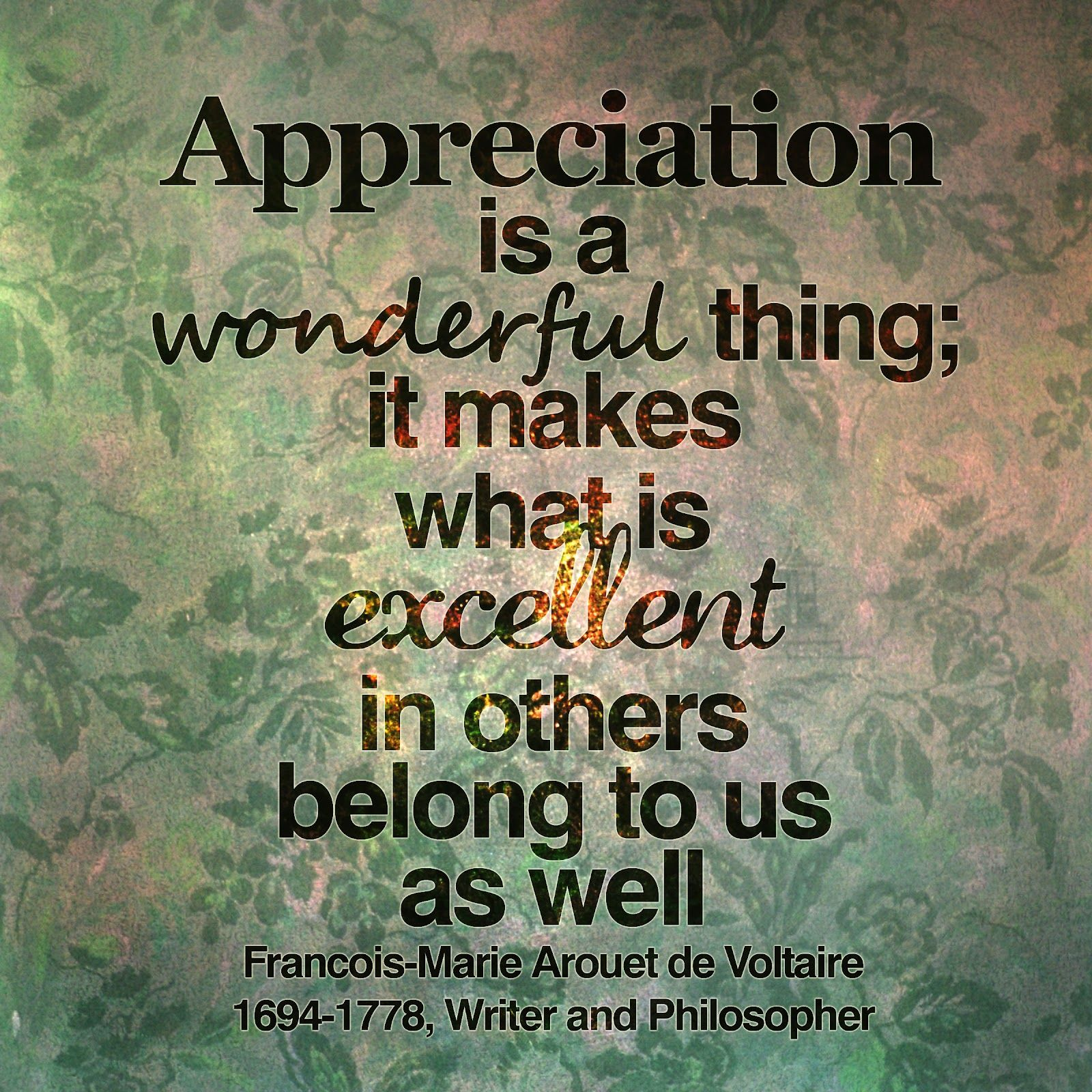 Inspirational Quotes About Gratitude: Inspirational Quotes Appreciation. QuotesGram