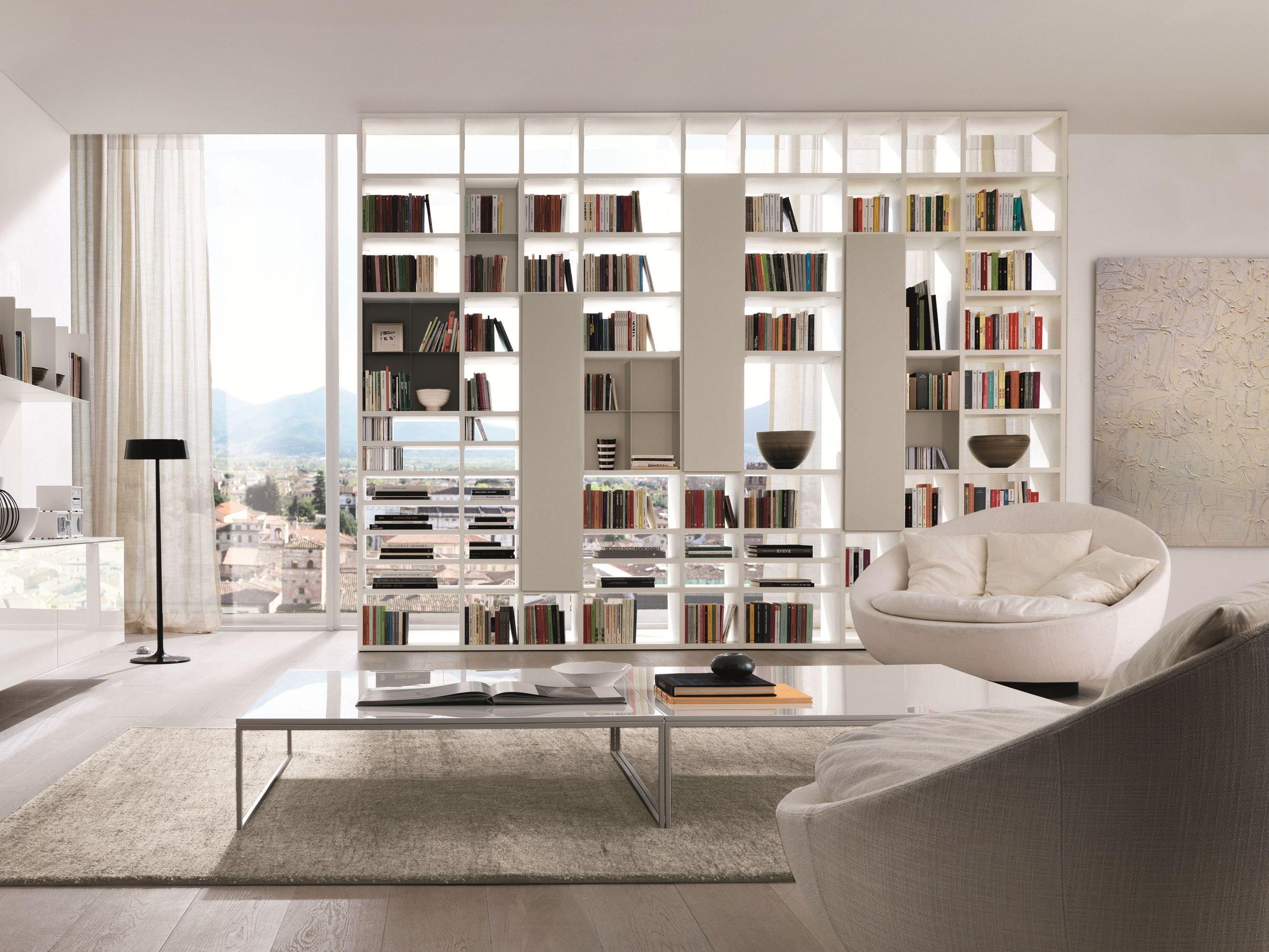 Librerie componibili per il soggiorno sala arredamento mobili
