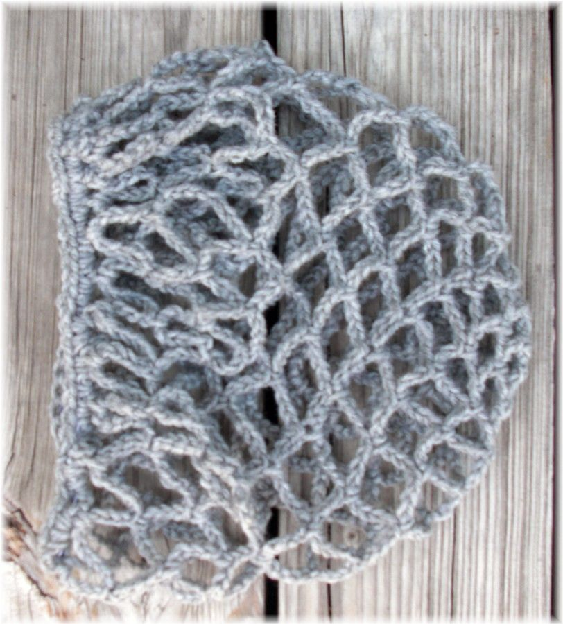 Snoods And Hair Bun Covers Free Patterns Crochet All About