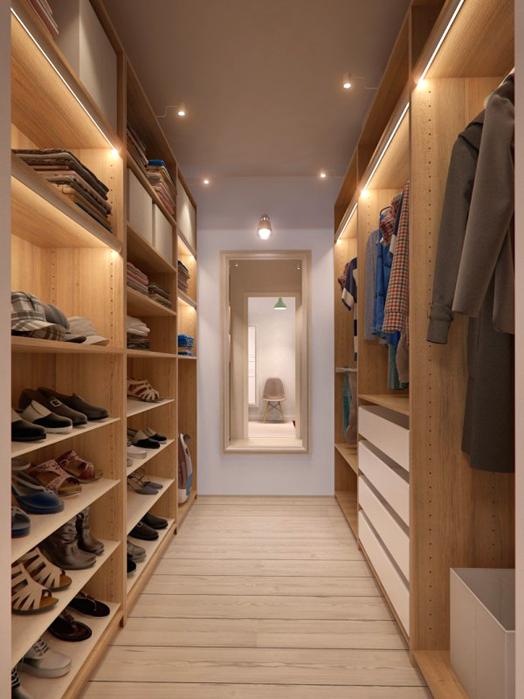 High Quality Walk In Wardrobe | INT2 Apartment