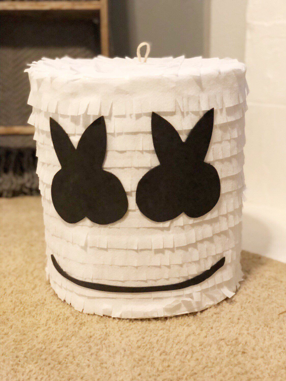 Marshmello Pinata In 2019 7th Birthday Party Ideas 9th