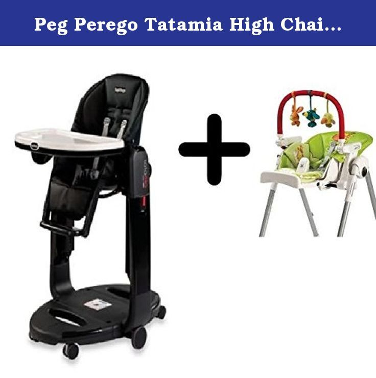 Peg Perego Tatamia High Chair In Licorice Peg Perego High Chair