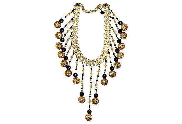 Hattie Carnegie Festoon Necklace on OneKingsLane.com