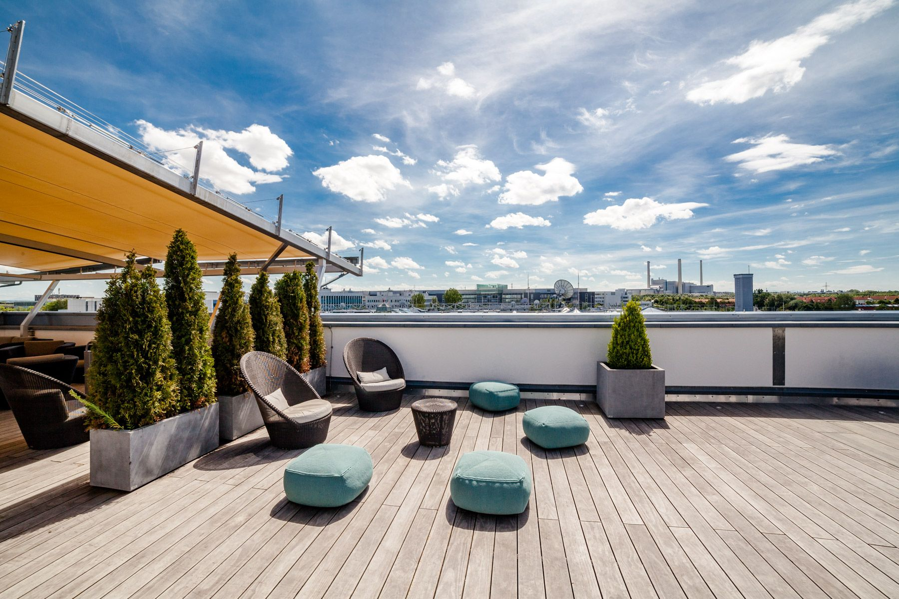 Rooftop Design Beauteous 7 Rooftop Deck And Terrace Designs For Your Next Commercial . Design Inspiration