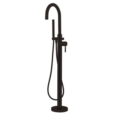Kingston Brass Concord Single Handle Floor Mount Tub Faucet With