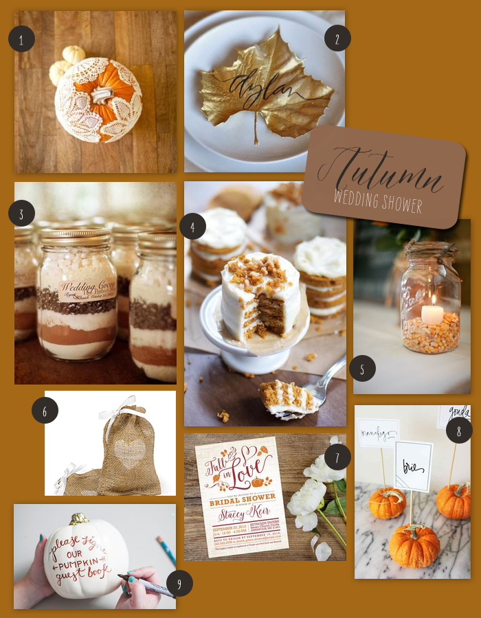 An Autumn Inspired Wedding Shower | Fall in love bridal ...