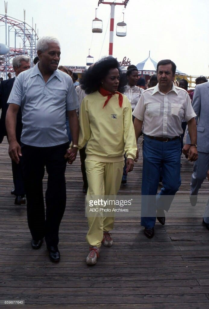 Ms Diana Ross With Her Father Fred Ross Sr Motown Artist